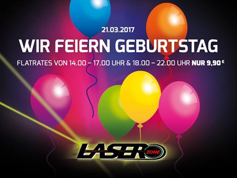 Lasertag Essen Geburtstag