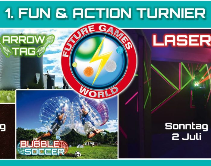 Future Games World Lasertag Turnier