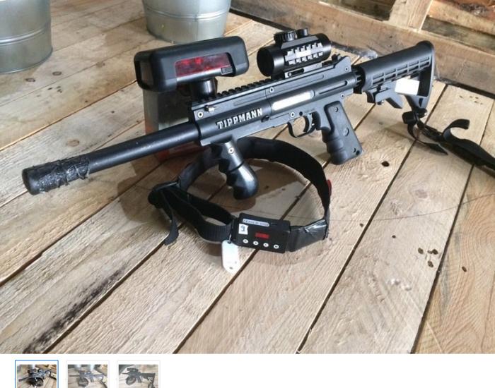 Lasertag zu verkaufen