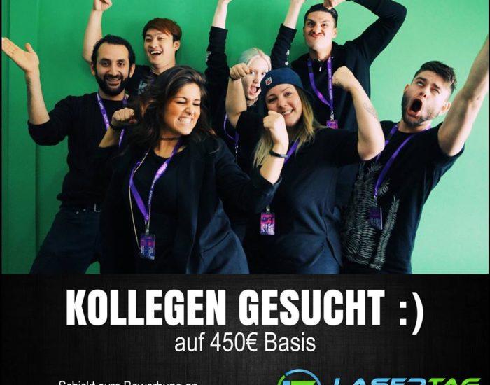 Lasertag Minijob Düsseldorf 450