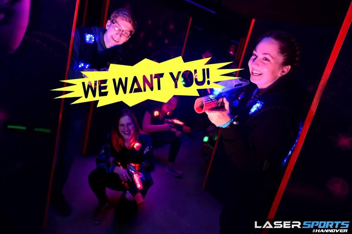 Lasertagfans Minijob Lasertag Lasersports Hannover