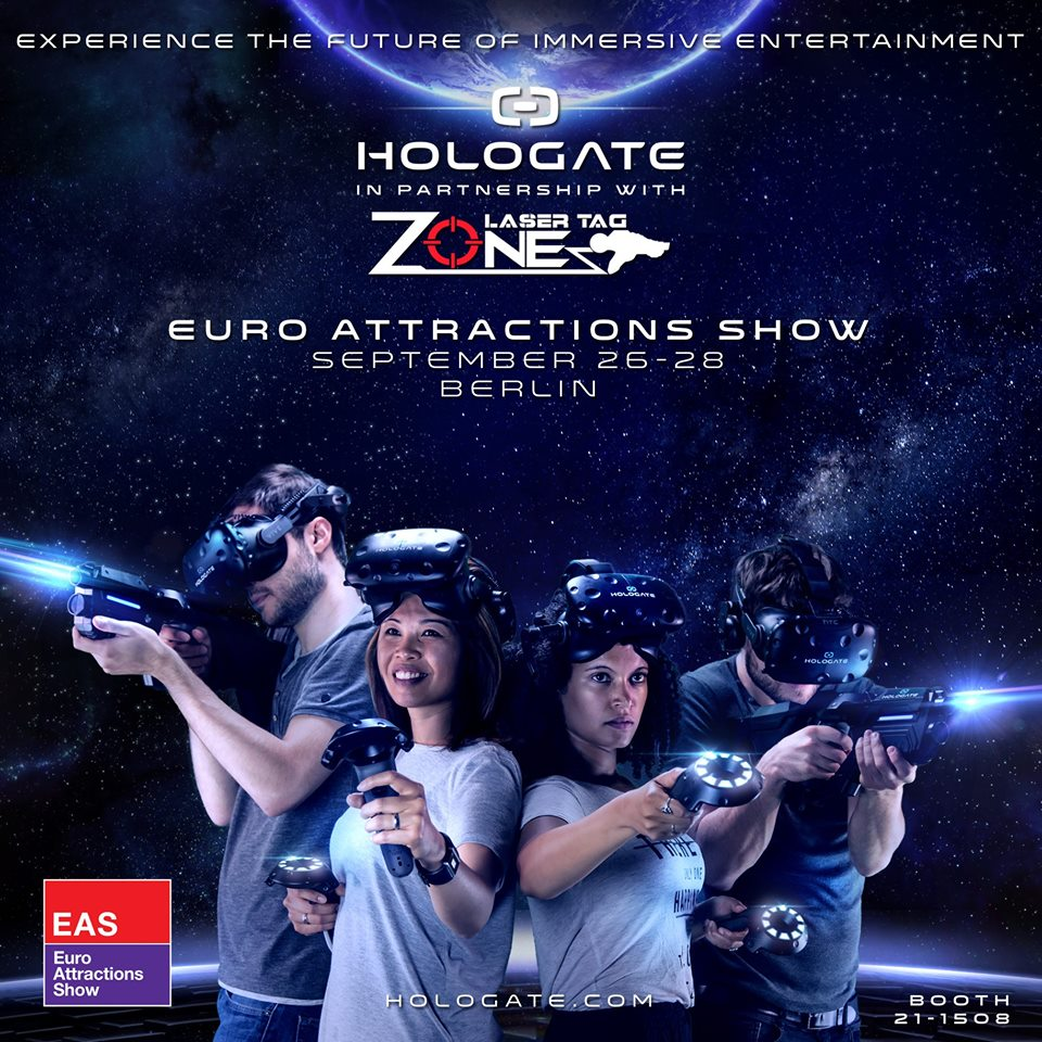 Euro Attractions Show 2017 Berlin Lasertagfans