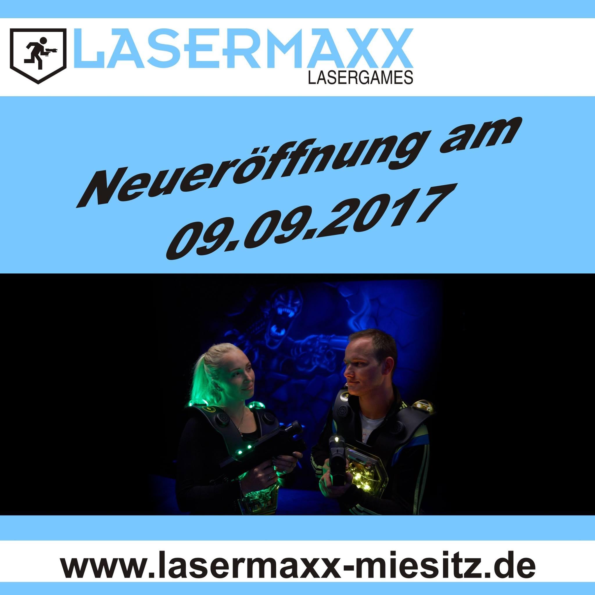 LaserMaxx Miesitz Lasertag Lasertagfans