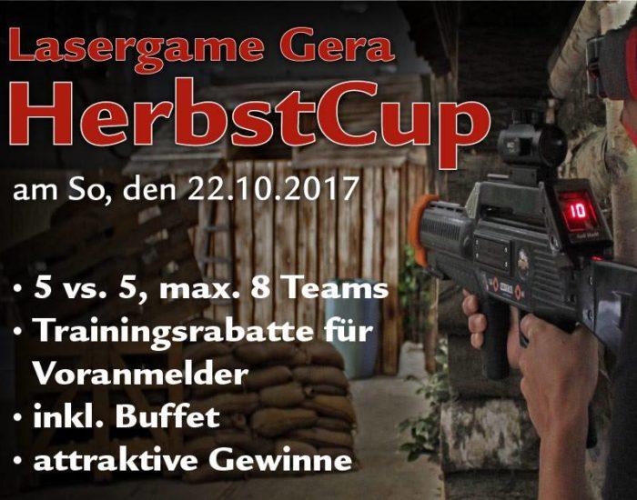 Lasergame Gera Herbstcup Lasertagfans