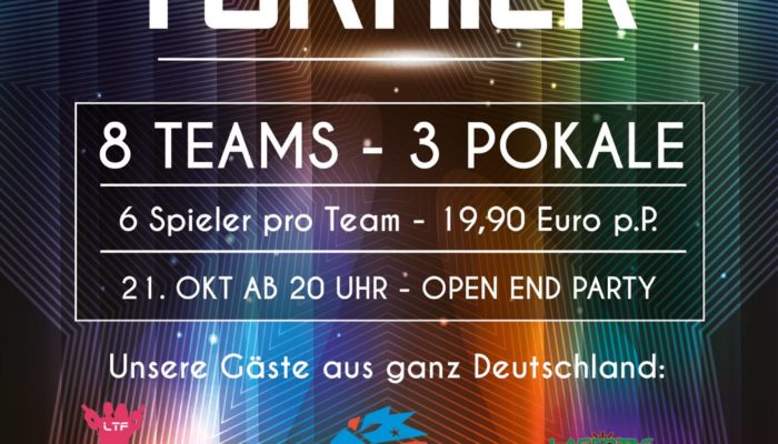 Lasertag Turnier in Magdeburg