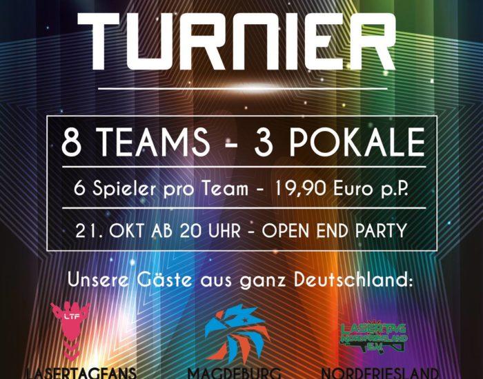 Lasertag Arena Magdeburg Turnier Lasertagfans