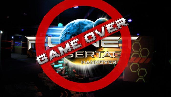 GAME OVER – Planet Lasertag Hannover schließt zum 01.11.2017