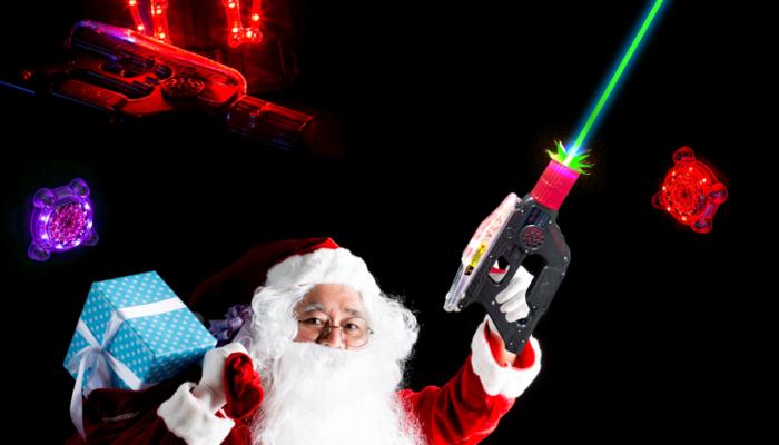 Lasertagfans.de wünscht euch ein besinnliches Weihnachtsfest und einen guten Rutsch ins neue Jahr 2018.