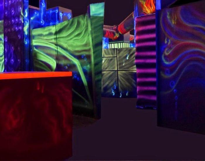 Lasertag System von Laserforce zu verkaufen