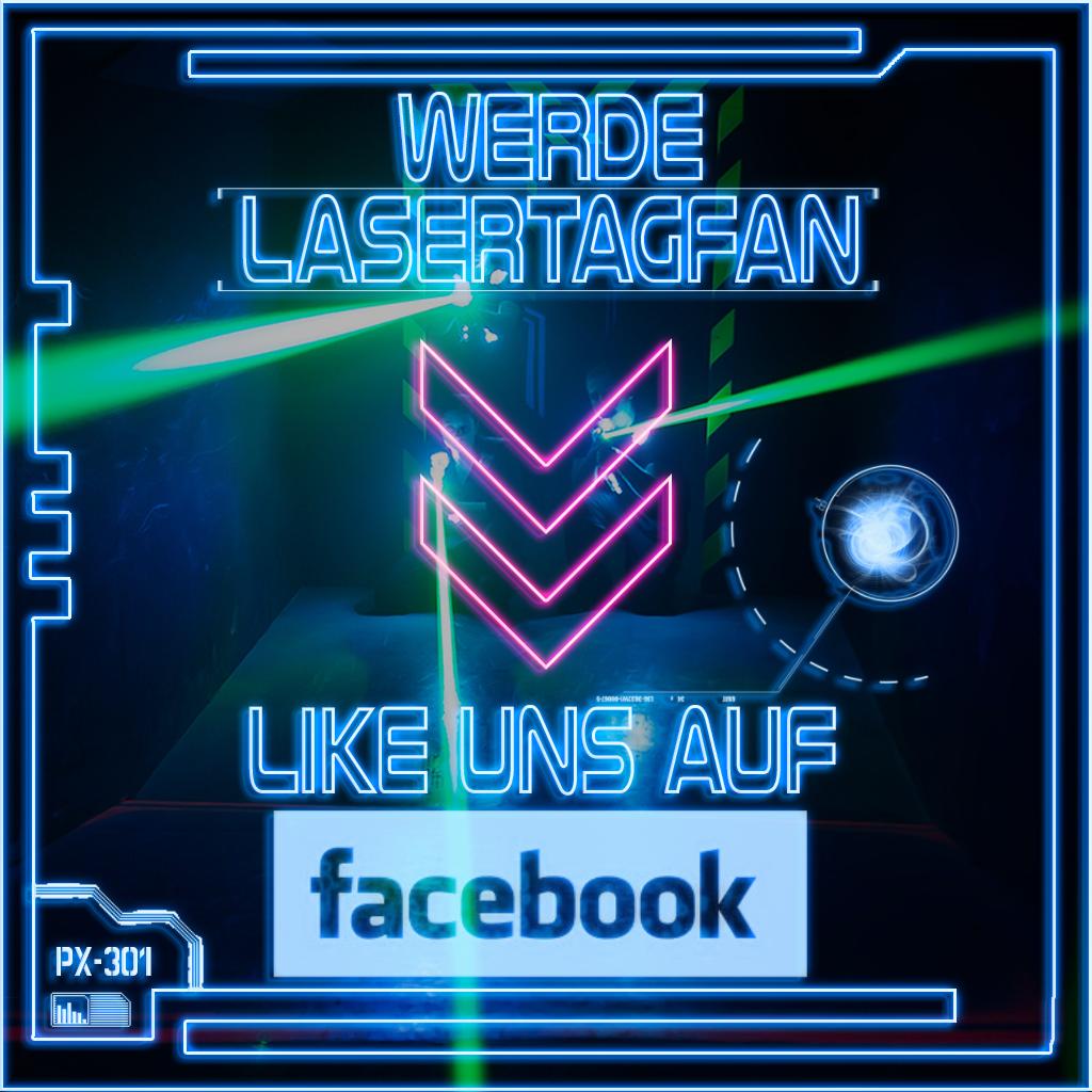 Werde Lasertagfan like uns bei Facebook